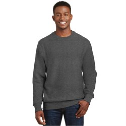 Image of Sport Tek Crewneck Sweatshirt Super Heavyweight Fleece Sweat Shirt