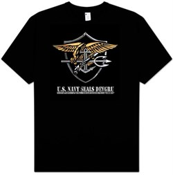 US Navy Seals T-Shirt - Devgru Adult Military Tee