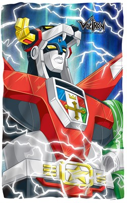 "Image of Voltron ""Lightning"" Fleece Blanket - 36"" X 58"""