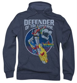 Voltron Hoodie Sweatshirt Defender Navy Blue Adult Hoody Sweat Shirt