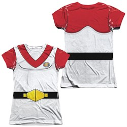 Image of Voltron Keith Costume Sublimation Juniors Shirt Front/Back Print