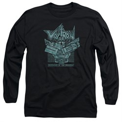 Voltron Shirt Defender Rough Long Sleeve Black Tee T-Shirt