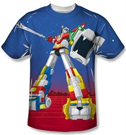 Voltron Shirt Form Voltron Sublimation T-Shirt