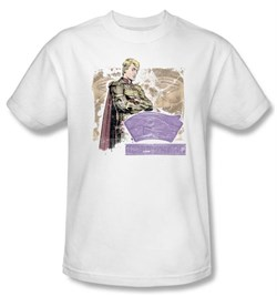 Watchmen Kids T-shirt Movie Superhero Ozymandias White Tee Shirt Youth