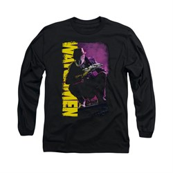 Image of Watchmen Shirt Perched Long Sleeve Black Tee T-Shirt