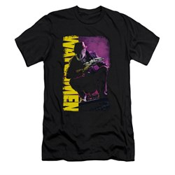 Image of Watchmen Shirt Slim Fit Perched Black T-Shirt