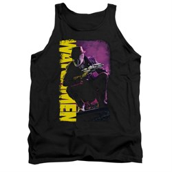 Image of Watchmen Shirt Tank Top Perched Black Tanktop