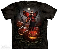 Wicked Halloween Fairy Shirt Tie Dye Adult T-Shirt Tee