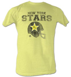 Football | T-Shirt | Yellow | Adult | World | Shirt | Star | York | Tee | New