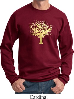 Image of Yoga Gold Foil Tree of Life Sweatshirt