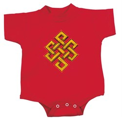 Yoga Romper Endless Knot Infant Baby Creeper