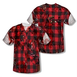 Image of Zombie Hipster Zombie Sublimation Shirt Front/Back Print