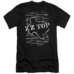 ZZ Top Slim Fit Shirt Barbed Black T-Shirt