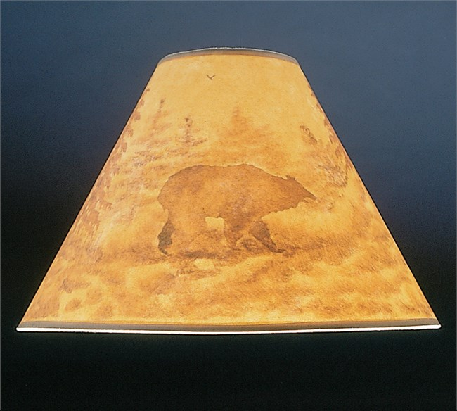 Grizzly Bear Lamp Shade