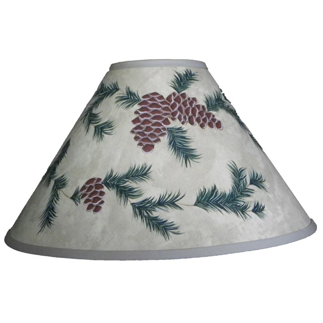 Pinecone Lamp Shade