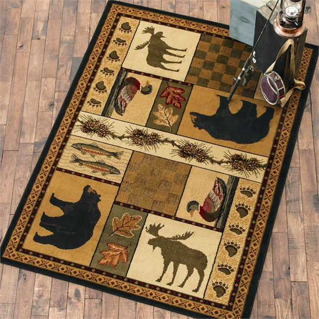 Winnipeg Pines Rug from Black Forest Decor!