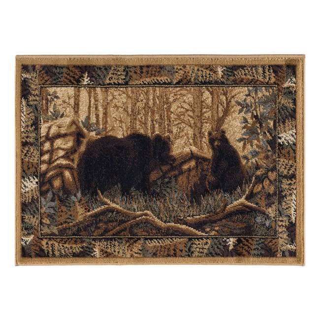 Forest Bears Rug from Wayfair!