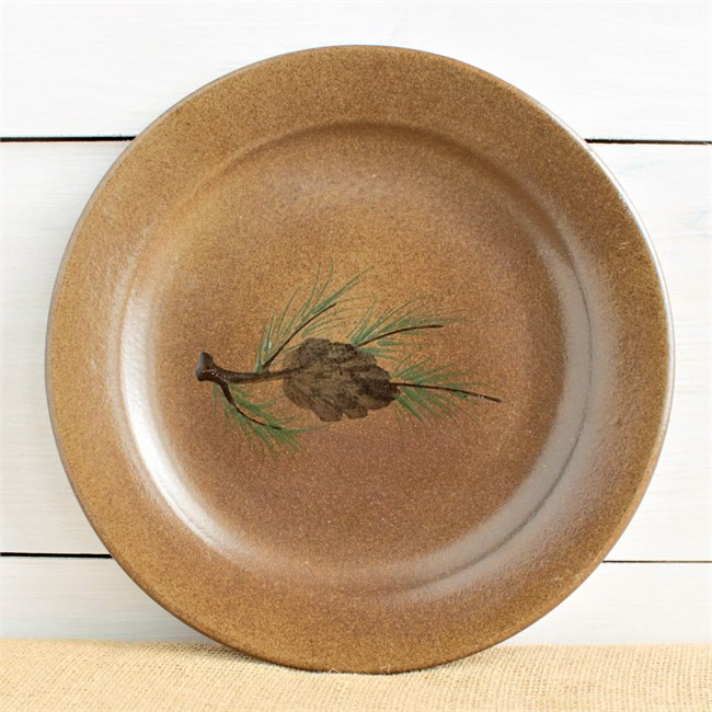 Woolrich Northwoods Pinecone Dinnerware from Black Forest Decor!