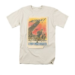 Army Shirt Action Poster Cream T-Shirt