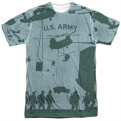 Army Shirt Airborne Sublimation T-Shirt Front/Back Print