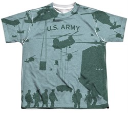Army Shirt Airborne Sublimation Youth T-Shirt