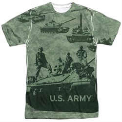 Army Shirt Tank Up Sublimation T-Shirt Front/Back Print