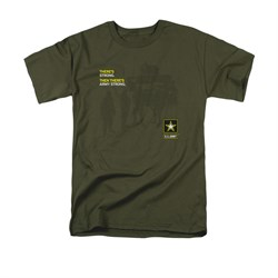 Army Shirt What Kind Of Strong Olive T-Shirt
