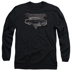 Buick Long Sleeve Shirt 1952 Roadmaster Black Tee T-Shirt