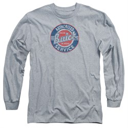 Buick Long Sleeve Shirt Authorized Service Athletic Heather Tee T-Shirt