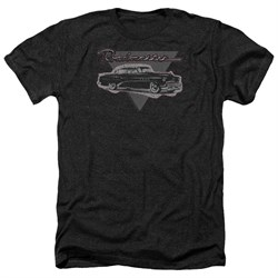 Buick Shirt 1952 Roadmaster Heather Black T-Shirt