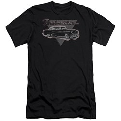 Buick Slim Fit Shirt 1952 Roadmaster Black T-Shirt