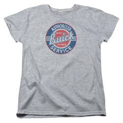 Buick Womens Shirt Authorized Service Athletic Heather T-Shirt