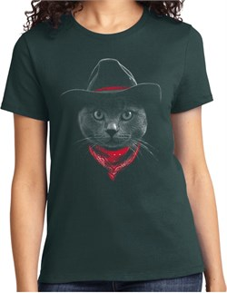 Cowboy Cat Ladies T-shirt