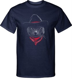 Cowboy Cat Tall T-shirt