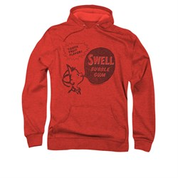 Double Bubble Hoodie Swell Gum Red Sweatshirt Hoody