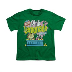 Double Bubble Shirt Kids Pink Lemonade Kelly Green T-Shirt