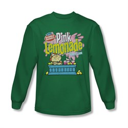 Double Bubble Shirt Pink Lemonade Long Sleeve Kelly Green Tee T-Shirt