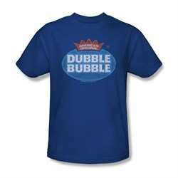 Double Bubble Shirt Vintage Logo Royal Blue T-Shirt