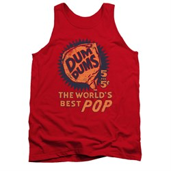 Dum Dums Shirt Tank Top The Best Pop For 5 Cents Red Tanktop