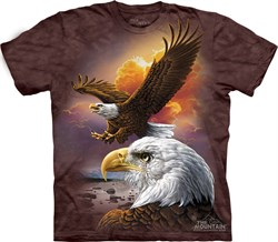 Image of Beautiful Majestic Bald Eagle T-shirt for Adults