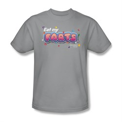 Farts Candy Shirt Eat My Farts Silver T-Shirt