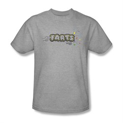 Farts Candy Shirt Finger Logo Athletic Heather T-Shirt