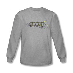 Farts Candy Shirt Finger Logo Long Sleeve Athletic Heather Tee T-Shirt