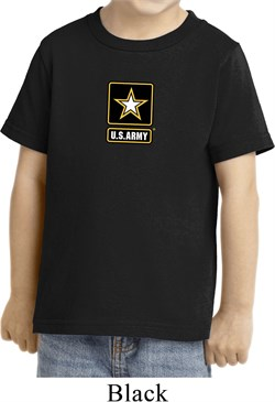 Kids US Army Small Print Toddler T-shirt