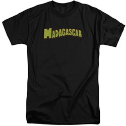 Madagascar Shirt Logo Black Tall T-Shirt