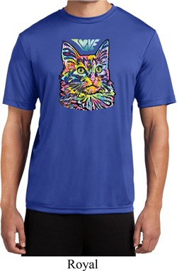 Mens Cat Tee Love Cat Moisture Wicking T-shirt