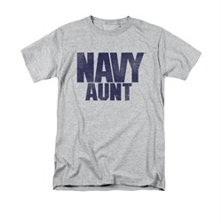 Navy Shirt Navy Aunt Athletic Heather T-Shirt