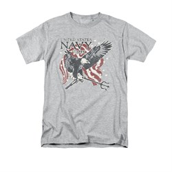 Navy Shirt Navy Eagle Trident Athletic Heather T-Shirt
