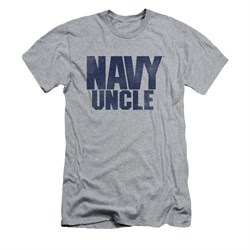 Navy Shirt Slim Fit Navy Uncle Athletic Heather T-Shirt