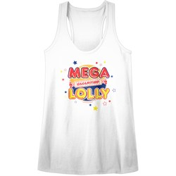Smarties Juniors Tank Top Mega Lolly White Racerback